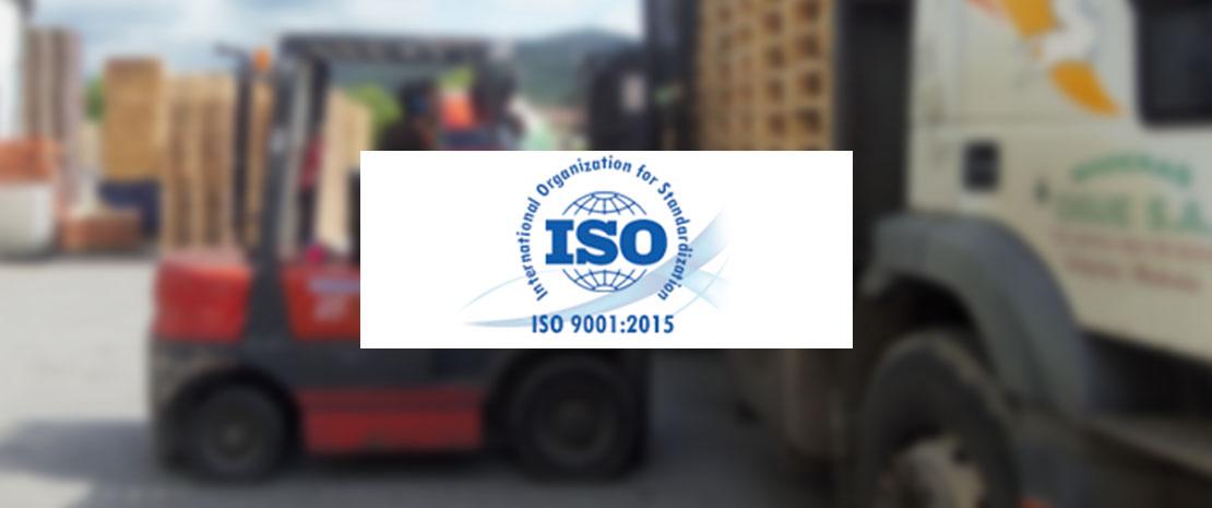Maderas Orue - ISO 9001