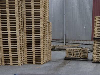 tipos palets madera