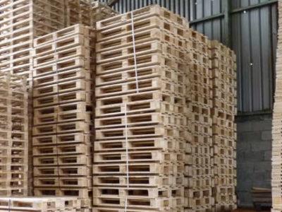 En 2019 se fabricaron 40 millones de palets de madera a nivel estatal